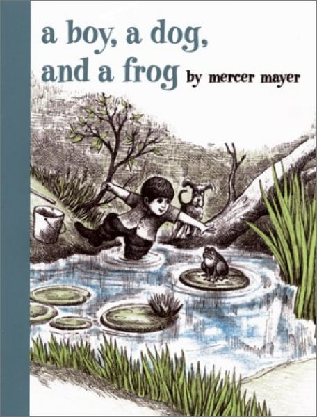 A Boy, a dog and a frog book