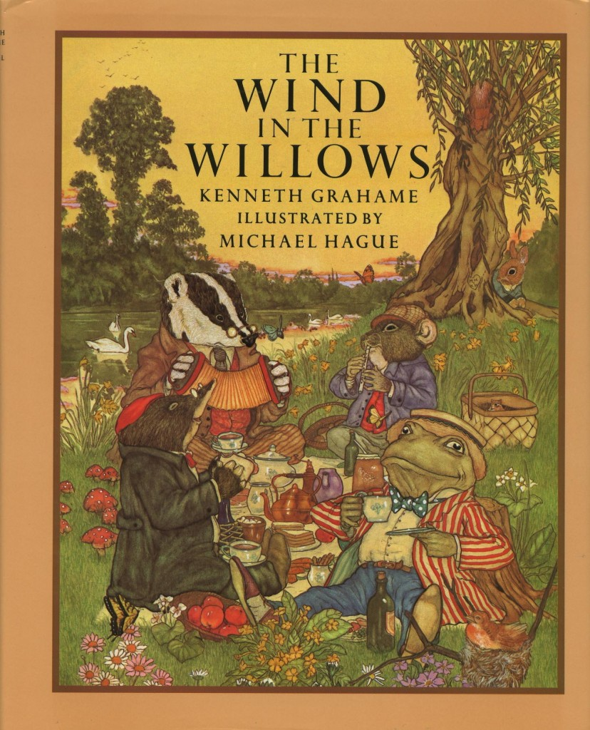 Wind in the Willows children's book